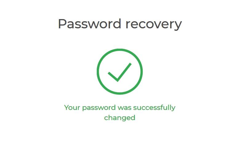 ทำการกู้คืนรหัสผ่านสำหรับบัญชี IQ Option ของคุณ