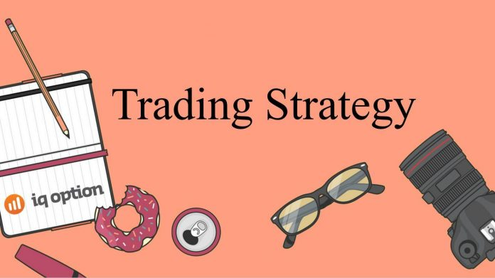 HIGHER trading strategy in IQ Option: Bullish Harami candlestick pattern and Support level
