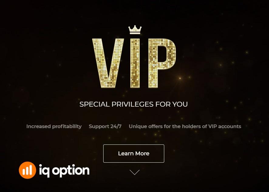 A VIP A VIP account in IQ Optionaccount in IQ Option