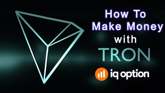 Earn more than $1000 using the Breakout strategy with TRON in IQ Option