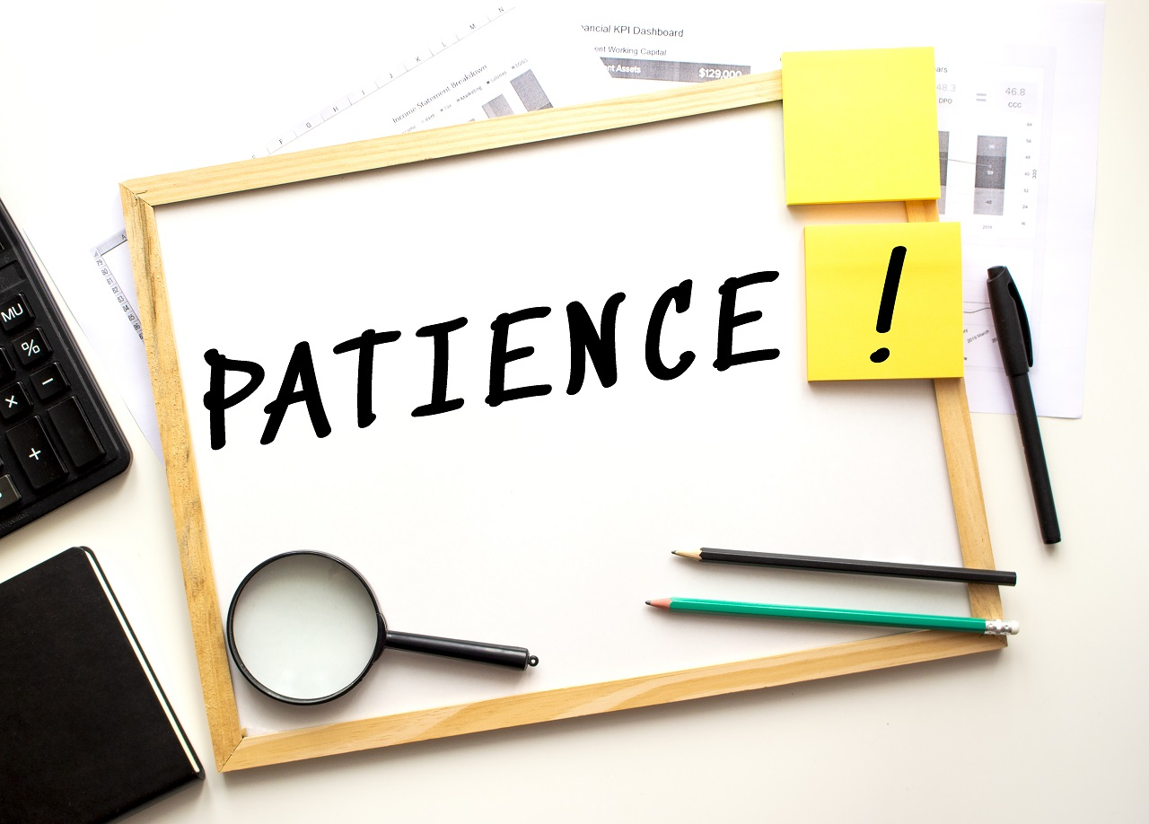 Patience is one of the most important tips to success in option trading