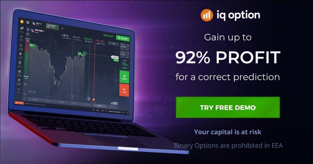 Handelsopsjoner i IQ Option